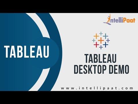 Tableau Desktop Demo
