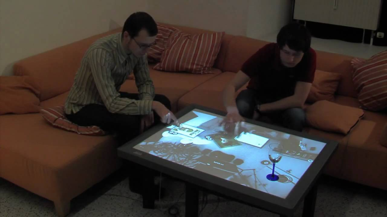 CRISTAL: Control Your Living Room By Dragging, Dropping, Swiping