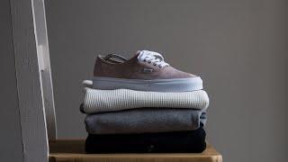 Building A Minimal Menswear Style Wardrobe From Scratch
