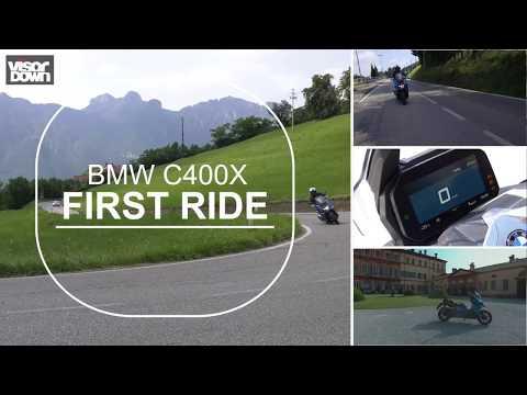 BMW C400X first ride | Visordown.com