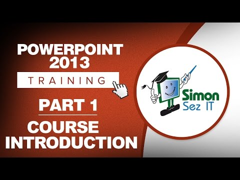 PowerPoint 2013 for Beginners Part 1: An Introduction to Using ...