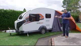 The Practical Caravan Swift Basecamp Plus review