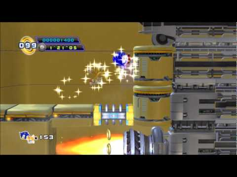 Nové video ze Sonic the Hedgehog 4: Episode II