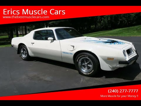 Video of '74 Firebird Trans Am - Q2RR