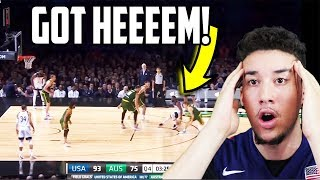 American Reacts to USA vs Australia Full Game Highlights (2019)
