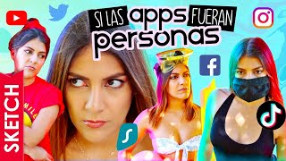 Si Las Apps Fueran Personas | Necesito Un Descanso Del Internet - Katia Nabil