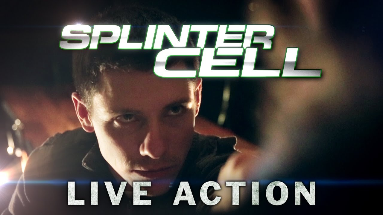 Live-Action Splinter Cell Is About As Awesome As It Sounds
