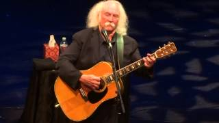 """""""For Free (Joni Mitchell Cover)"""" David Crosby@Whitaker Center Harrisburg, PA 6/23/15 Acoustic Tour"""