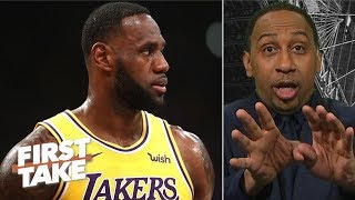 LeBron and the Lakers are officially done, front office changes to come - Stephen A. | First Take