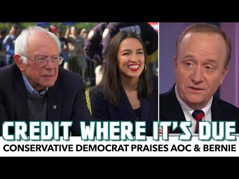 Conservative Democrat Praises AOC & Bernie