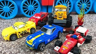 Toy Cars Assembly Video for Kids - Mcqueen Miss Fritter