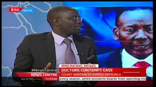 Doctors' contempt case with Jesse Oduor and Duncan Okatch - Part 2 12/1/2017