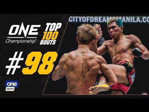 [Sport5]  One Championship Top 100 Fights: Petchdam vs Momotaro
