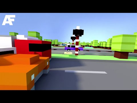 First-Person Crossy Road Would Kill Me