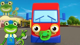 If You're Happy and You Know It Beep Your Horn   Nursery Rhymes   Gecko's Garage   Baby Truck Song