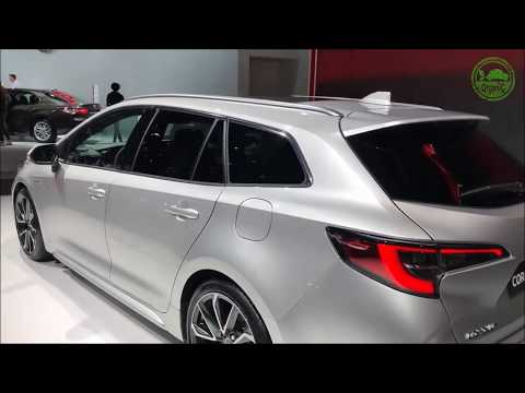 2019 Toyota Corolla Hybrid Touring Sports Wagon Organi Car Video