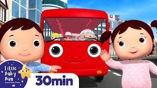 Wheels On The Bus - Babies! +More Nursery Rhymes and Kids Songs | Little Baby Bum