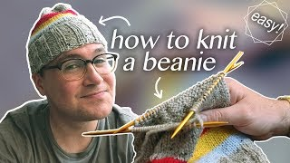 How to Knit a Beanie: All the Basics!