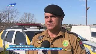"""Polícia apreende 19 pessoas em """"Operação Calote"""" em ônibus de Londrina"""