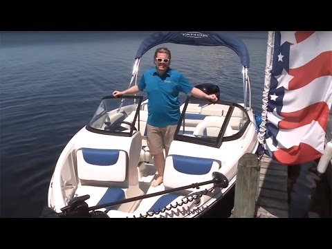 TAHOE Boats: 2016 550 TF Power Boat Television Review