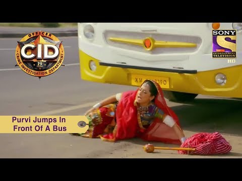 Your Favorite Character | Purvi Jumps In Front Of A Bus | CID