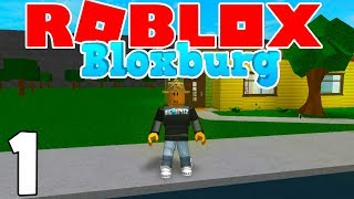 MY FIRST HOUSE & NEW JOB! | Roblox BloxBurg | Ep.1