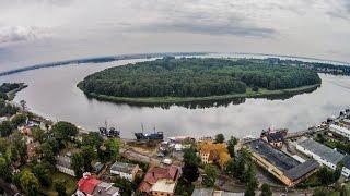 preview picture of video 'W obiektywie drona: Dziwnów 2014 - Plaża i Ośrodek Wypoczynkowy Na Wydmie (www.mydrone.pl)'