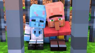 Alien & Villager Life 4 - Minecraft Animation