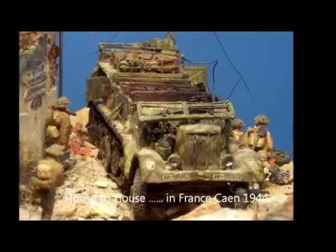 70th D-day Diorama by 1/72 scale models  - смотреть онлайн