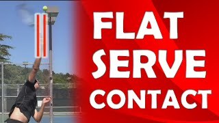 Flat Serve Contact Point | CONTACT POINT TIPS