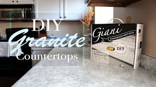 DIY Granite Countertop – Giani – How To Tutorial And Review With 3 Month Follow-up