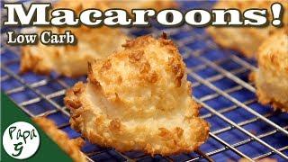 Coconut Macaroons – Low Carb Keto Dessert Recipe