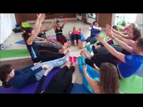 Детская йога | Курс инструкторов - 2017 Урок Елены Гофман