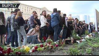 В Москве сотни поклонников почтили память солиста Linkin Park