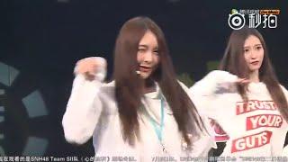 SNH48 吳哲晗 張語格《High Heels》拉票會俏皮熱舞