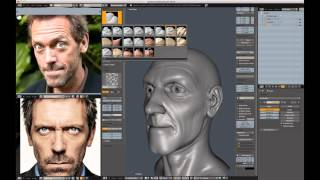 Creating a Realistic Head in Blender - part 02