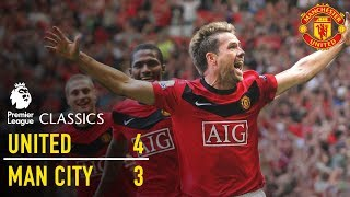Manchester United 4-3 Manchester City (09/10) | Premier League Classics | Manchester United