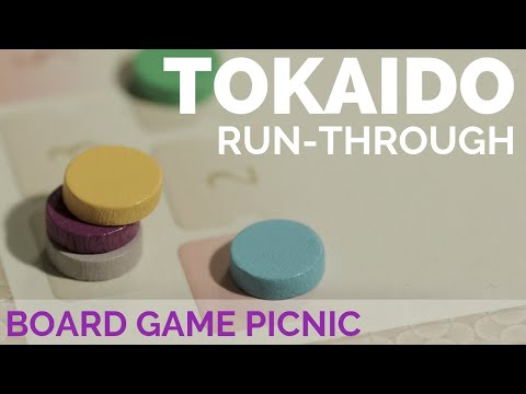 Tokaido Board Game Run-Through