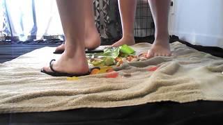 1d0f1cd84 04 Foot fetish flip flop food crush.
