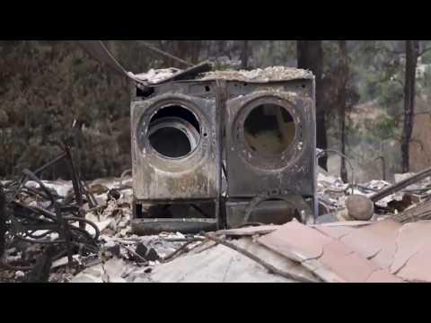 Wildfire in California causes massive devastation