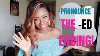 English Lesson: 3 ways to Pronounce the -ed ending!