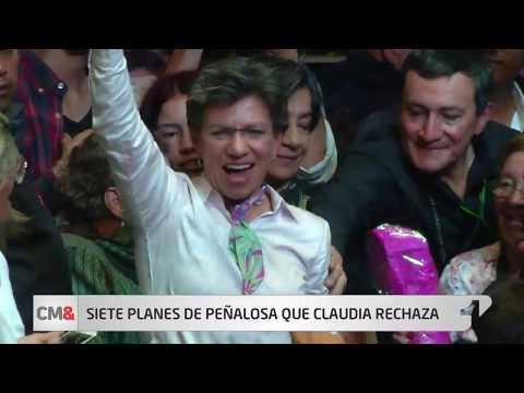 Siete proyectos de Peñalosa que Claudia Lopez aprueba y seis que rechaza