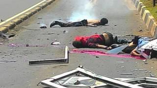 Teroris Jakarta, MH.Thamrin Street. 5 Teroris Killed By Our Police Officer
