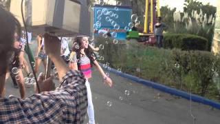 "Danna Paola graba video de ""Ruleta"""