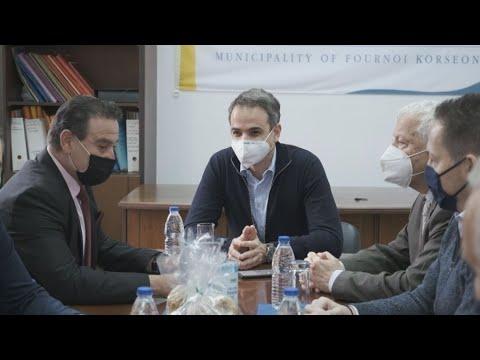 Κ.Μητσοτάκης:Οριζόντιος για όλους όσους το επιθυμούν ο εμβολιασμός στα μικρά και ακριτικά νησιά μας