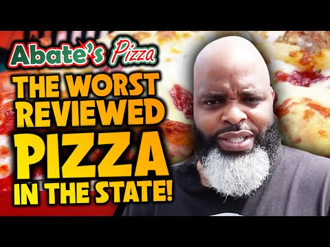 Eating At The WORST Reviewed PIZZA Restaurant In My State