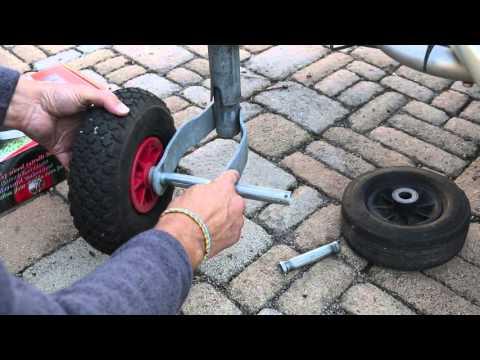 Caravan Stützrad gegen Reich Easy Wheel tauschen