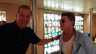 Robin Askwith Nearly Misses Boarding CMV Liner Magellan at Barcelona 28Dec2018