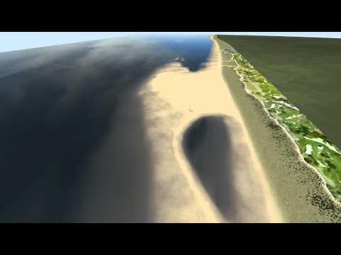 De Zandmotor Virtuele Maquette