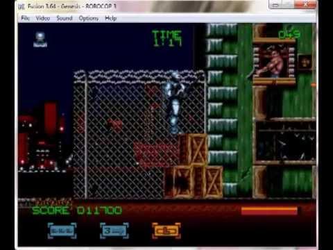 RoboCop 3 - Mega Drive / Genesis Longplay